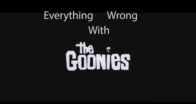 everything wrong with the goonies